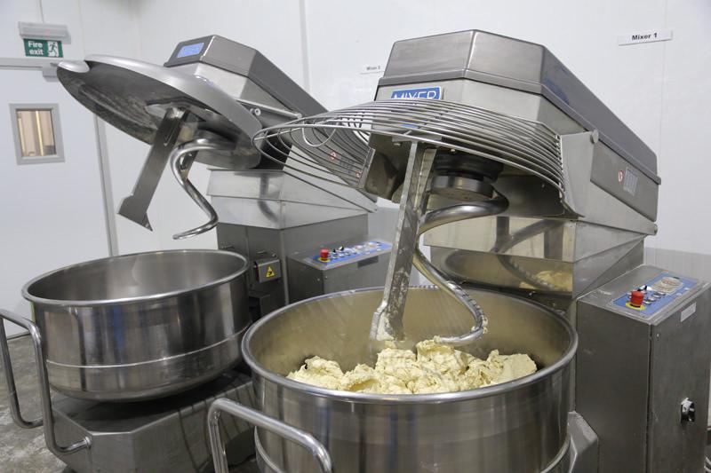 Craft Bakery Spiral Mixers Mixing New Equipment