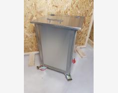 SINGLE COMPARTMENT STAINLESS STEEL INGREDIENTS BIN